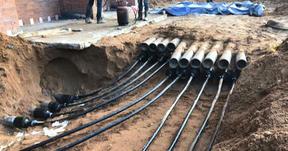 Прокладка кабельных линий в земле