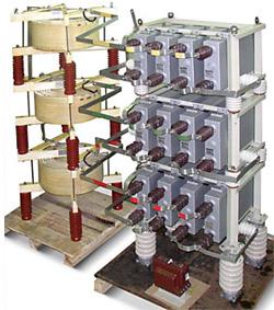 Фильтры силовые высших гармоник 10 кВ