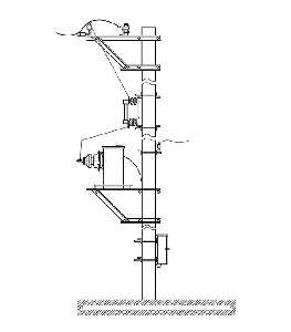Мачтовая трансформаторная подстанция однофазная типа МТПО 4 10/10(6)/0,23 У1