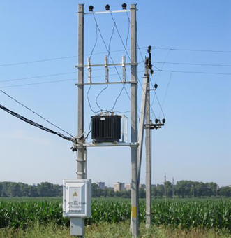 Мачтовая трансформаторная подстанция типа МТП 25 100/10(6) У1